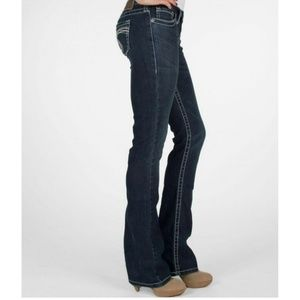 Silver Jeans Tuesday Dark Wash Size 28